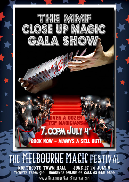 Close Up Gala Magic Festival