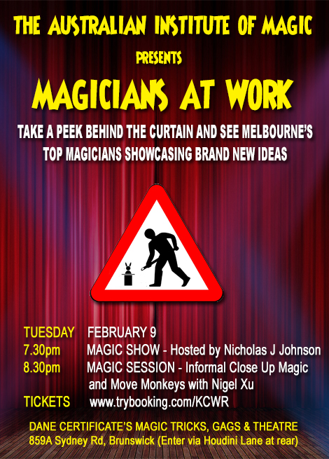 Magicians at Work Magic Show